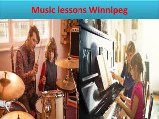 Music lessons Winnipeg