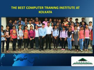 THE BEST COMPUTER TRANING INSTITUTE AT KOLKATA