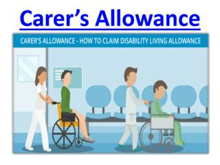 Carer's Allowance - Carer's UK