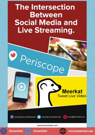 The Intersection Between Social Media and Live Streaming