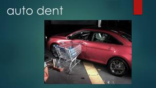 Paintless dent removal and repair photos
