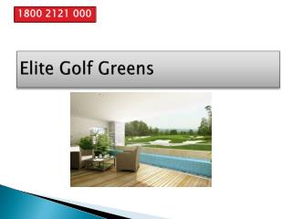 Elite Golf Greens Price List