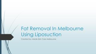 Fat Reduction Methods That You Can Use To Burn Excess Fat Effectively In Melbourne