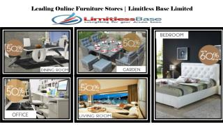 Buy Online Contemporary and Designer Beds at Limitless Base Limited