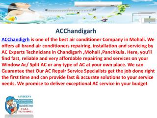 Acchandigarh  - Ac Service in Chandigarh