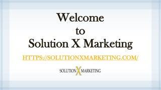 Solution X Marketing | Printing Services in San Francisco
