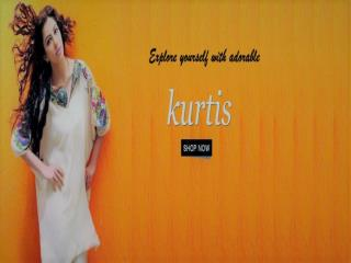 Explore Yourself with Adorable Kurtis from ShoppyZip