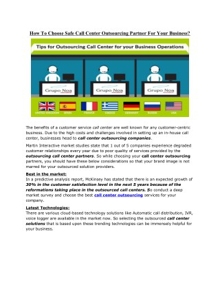 PPT - Why Choose Call Center Solutions PowerPoint Presentation - ID