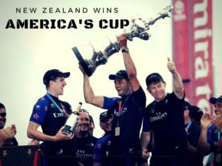 Emirates Team New Zealand win America's Cup 2017