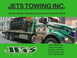 Choose A Reliable Towing Services Provider For Total Peace Of Mind