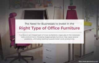 Factors to Consider While Buying Office Chairs