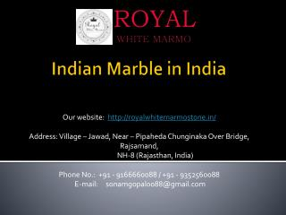 Indian marble india