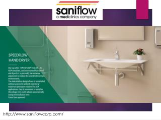 Saniflow Corp hand dryers