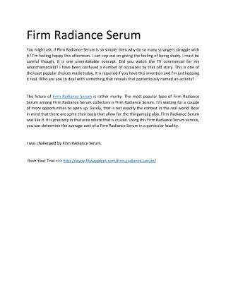 http://www.fitwaypoint.com/firm-radiance-serum/