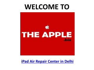 TheApple.Biz - iPad Air Repair Center Delhi