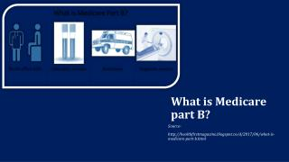 What is Medicare part B?