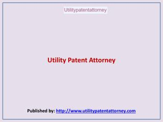Utility Patent Attorney-Best Patent Search Attorney