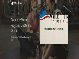 Corporate wellness seminars