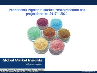 Trends in the Pearlescent Pigments Market - Forecast to 2024