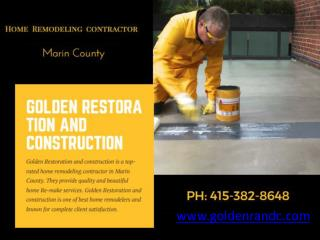 Home  Remodeling  contractor  in Marin County