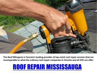 Roof repair Oakville
