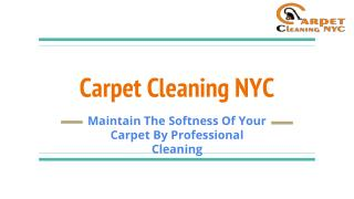 Excellent Cleaner In Your Budget | Carpet Cleaning NYC