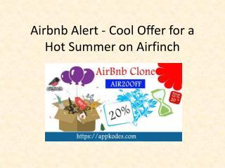Airfinch Script Sale Flat 20% Offer Deal