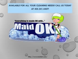 Cleaning Company Oklahoma