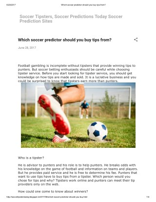 PPT - Guaranteed winning tips for soccer bets PowerPoint