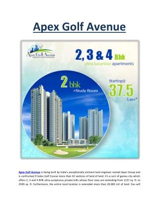 Apex Golf Avenue
