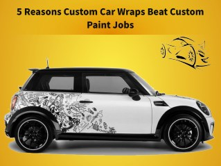 5 Reasons Custom Car Wraps Beat Custom Paint Jobs