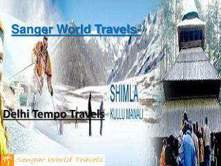 Luxury Tempo Traveller Hire in Delhi NCR
