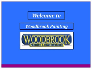 Home Painters & Residential Painting Contractors in Michigan | Woodbrook Painting