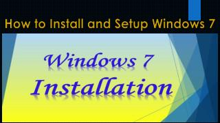 Windows 7 operating System Support Number