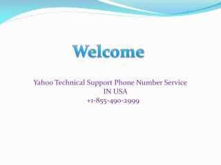 Yahoo customer care number in USA List