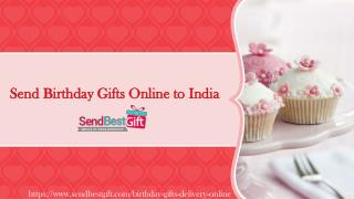 Send Birthday Gifts to India, Birthday Gifts Online