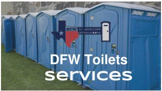 Portable Toilet Rental Services In Dallas- DFW Toilets