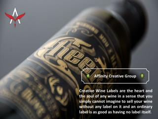 Importance of Excellent Creative Wine Labels