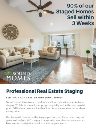 Home Staging Services in Connecticut