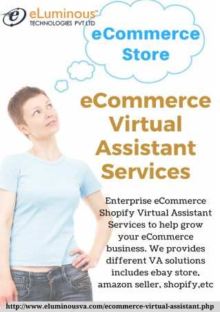 eCommerce Virtual Assistant Services