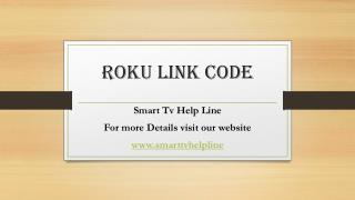 Roku Link Code Toll Free (1844-305-0086)