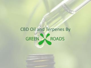 CBD Oil and Terps by GreenRoads