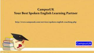 CampusUK - Your Best Spoken English Learning Partner