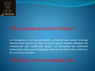 Lasorogeeka Best Furniture Manufacturers India