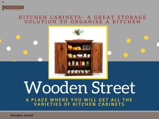 Buy Kitchen Cabinets with Latest Designs Online India