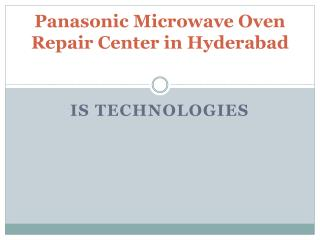 Panasonic Microwave Oven Repair Center in Hyderabad