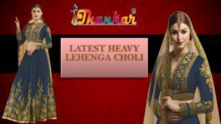 New Traditional Designer Lehenga Choli