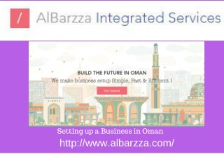 Setting up a Business in Oman