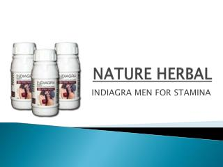 Indiagra Herbal For Men Stamina