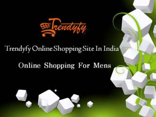 Online shopping for mens clothing
